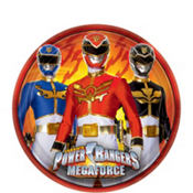 Power Rangers Dessert Plates 8ct