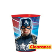 Captain America Favor Cup 16oz
