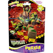 Teenage Mutant Ninja Turtles Puzzle Bag 48pc