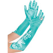 Long Elsa Gloves - Frozen