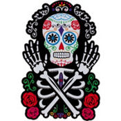 Skeleton Day of the Dead Cutout