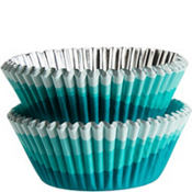 Blue Ombre Baking Cups 36ct