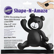 Black Edible Decorating Dough