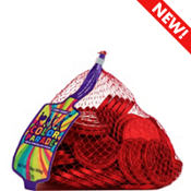 Red Chocolate Coins 72pc
