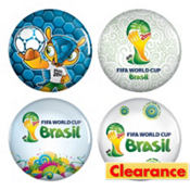 FIFA World Cup Buttons 4ct