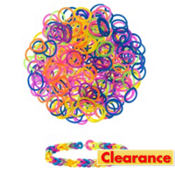Bubble Rubber Loom Bands 150ct