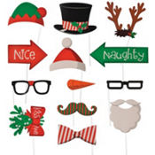Christmas Photo Prop Kit 10pc