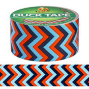 Blue Chevron Duck Tape