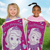 Sofia the First Potato Sack Race Bags 6ct