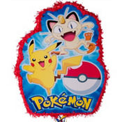 Pull String Pokeball Pokemon Pinata