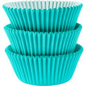 Robin's Egg Blue Baking Cups 75ct