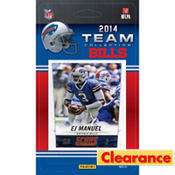 2014 Buffalo Bills Team Cards 13ct