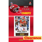 2014 Kansas City Chiefs Team Cards 13ct