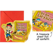 Jumbo Jake and the Never Land Pirates Invitations Deluxe 8ct