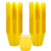 Sunshine Yellow Plastic Cups 72ct
