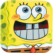 SpongeBob Classic Lunch Plates 8ct