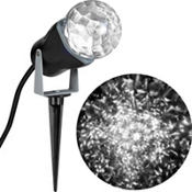 White Kaleidoscope Spotlight