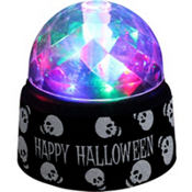 Happy Halloween LED Crystal Ball
