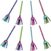 Purple & Teal Pastel Fringe Blowouts 8ct