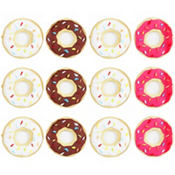 Donut Icing Decorations 12ct