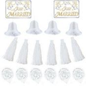 Wedding Car Decorating Kit 18pc