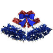 Tinsel Patriotic Bells