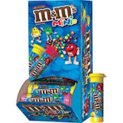 Milk Chocolate M&M's MINIS Tubes 24ct