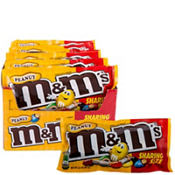 Milk Chocolate Peanut M&M's Sharing Size Pouches 24ct