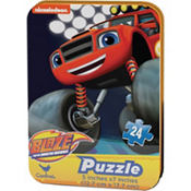 Blaze and the Monster Machines Puzzle Tin