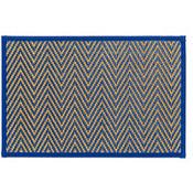 Royal Blue Chevron Bamboo Placemat