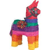 Rainbow Donkey Pinata