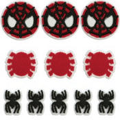 Spiderman Icing Decorations 11ct
