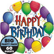 Balloon Fun Happy Birthday Party Supplies