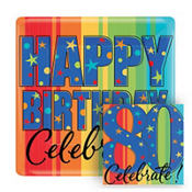 A Year To Celebrate 80th Birthday Party Supplies