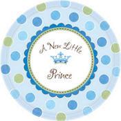 Little Prince Baby Shower Party Supplies