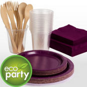 Eco Friendly Tableware Plum