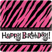 Oh So Fabulous Zebra Party Supplies