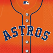 MLB Houston Astros Party Supplies
