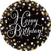 Sparkling Celebration Happy Birthday Party Supplies