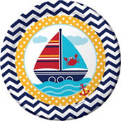Ahoy Nautical Baby Shower Party Supplies