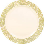 Gold Premium Wedding Party Supplies