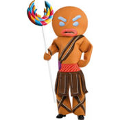 Adult Warrior Gingerbread Man Costume - Shrek Forever After