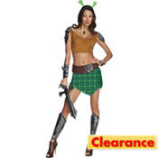 Adult Warrior Fiona Costume - Shrek Forever After