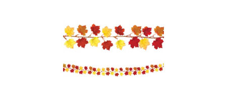 Fall Leaves Decorations