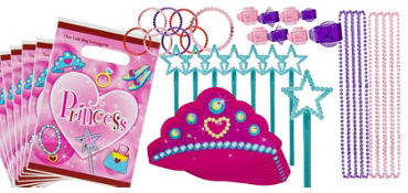 Princess Favor Value Pack with 48 pieces