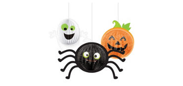 Gruesome Group Hanging Decorations 3ct