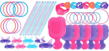 Girls Party Favor Value Pack with 48 pieces