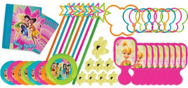 Tinker Bell Favor Value Pack with 48 pieces