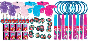 Little Mermaid Party Favor Value Pack with 48 pieces