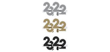 Prismatic Black, Gold & Silver 2017 Glasses 24ct